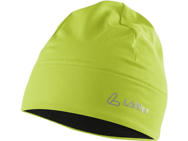 Löffler Mono Thermo-Velours-Light Cap, light green